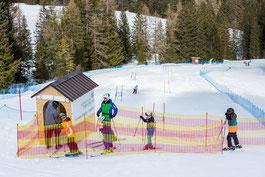 Skirennen bei der Skischule Brandnertal