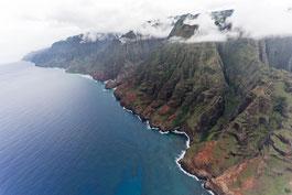 Na Pali Coast auf der hawaiianischen Insel Kauai