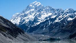 Mount Cook - Der höchste Berg Neuseelands