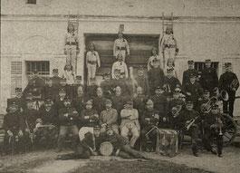 Mannschaftsfoto aus der Gründerzeit