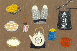 Japanese folk crafts ・ 鳥取の民芸品