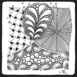 zentangle zentangledichgluecklichs webseite. Black Bedroom Furniture Sets. Home Design Ideas