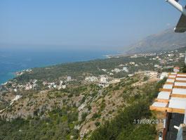 Sued albanische Riviera