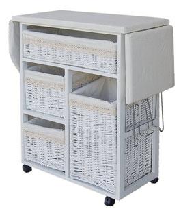 Busca una tabla de plancha con cajones para guardar los productos - AorganiZarte