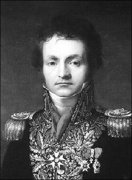 Général Pelleport, commandant la 1ère brigade, 20ème division d'infanterie