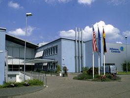 Eingangsbereich Johson Cotrols Burscheid