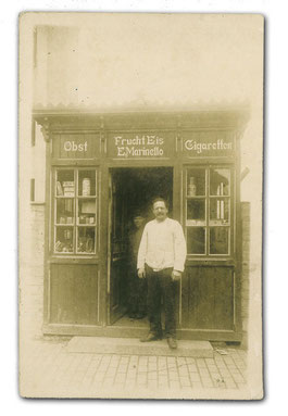 Ernesto Marinello um die 1920 in der Nordersteinstraße