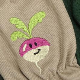 Kinder-Gartenhandschuhe aus Baumwolle von www.the-golden-Rabbit.de