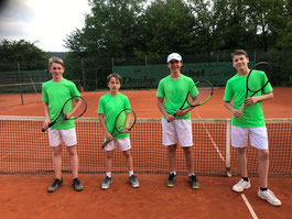 Unsere u16m gewinnt zuhause 4:2 gegen Eberbach