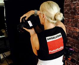 Ein Event mit mobiles Fotostudio Angelstein und dem Friseurteam inklusive Stylings und Make-up
