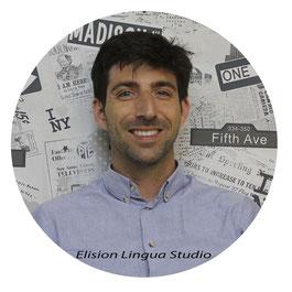 Romain сертифицированный преподаватель носитель французского языка. Москва. Elision Lingua Studio. Курсы французского с носителем языка