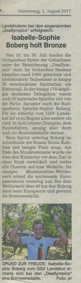 Quelle: Landshuter Zeitung 03.08.2017