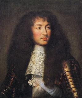 """Лебрен. """"Людовик XIV"""". Версаль. Национальный музей."""