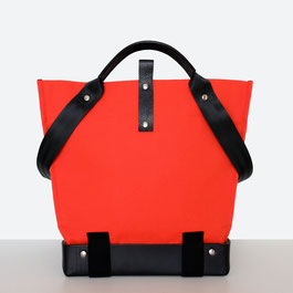 Trasporta bag - Adaptive Bag - Wheelchair bag - Bag for wheelchair user - Tote bag - Shoulder bag - Made in Ticino - Color Red