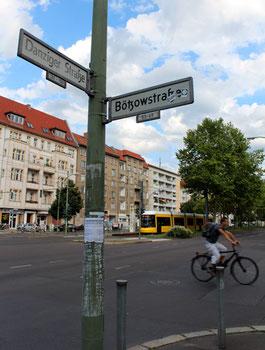 Bötzow-Viertel im Prenzlauer Berg. Ecke Danziger Strasse - Bötzowstrasse. Foto: Helga Karl