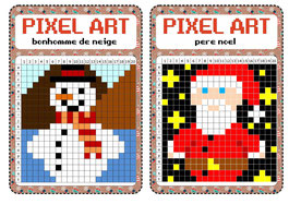 Atelier Libre Pixel Art Fiches De Preparations Cycle1 Cycle 2 Ulis