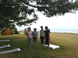 琵琶湖畔ヨーガ