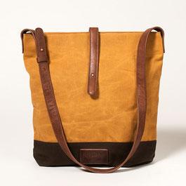 Tote Bag No. II - Cognac Brown