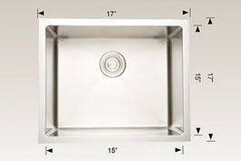 208012 bosco undermount sink