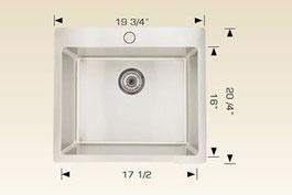 bosco drop in kitchen sink T208023