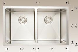 bosco  undermount kitchen sink 203327