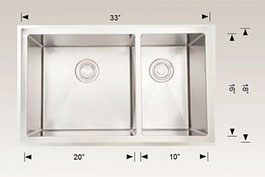 208006 bosco undermount sink