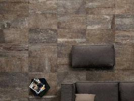 Centura Tile porcelain tile - Dark Fossil