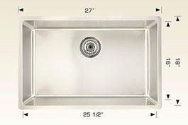bosco kitchen sink 208015