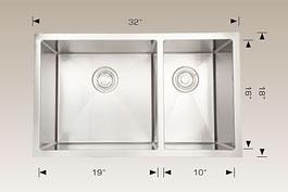bosco  undermount kitchen sink 203324l