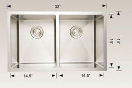 208005 bosco undermount sink
