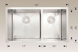 bosco  undermount kitchen sink 203323l
