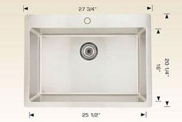 bosco drop in kitchen sink T208025