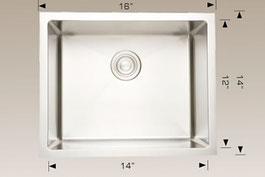 bosco  undermount kitchen sink 203342