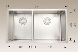 bosco  undermount kitchen sink 203321r