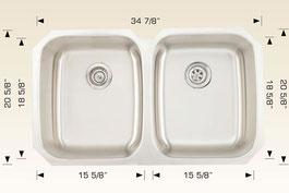 bosco  undermount kitchen sink 207024