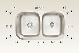 207 039 bosco undermount sink