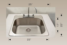 t207005 drop in sink