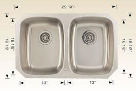 bosco  undermount kitchen sink 207022