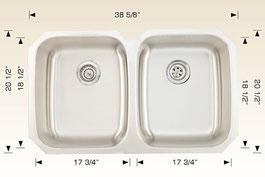 bosco  undermount kitchen sink 207030