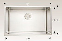 208003 bosco undermount sink