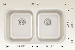 h207001 bosco undermount kitchen sink