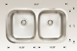 hu207010 bosco undermount kitchen sink