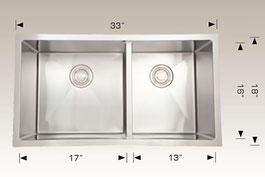bosco  undermount kitchen sink 203321m