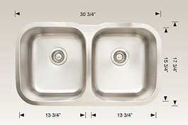 hu207012 bosco undermount sink