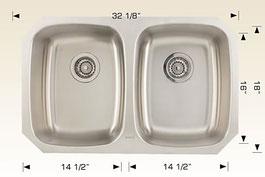 bosco  undermount kitchen sink 207031
