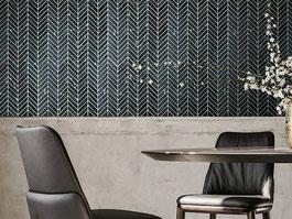 mosaic tile - Miki Chevron