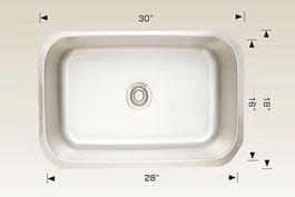 207038 bosco undermount sink