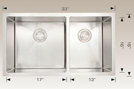 bosco  undermount kitchen sink 2033231L