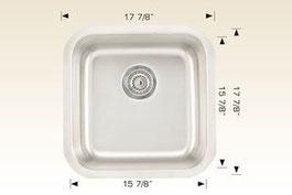 bosco  undermount kitchen sink 207032