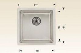 bosco  undermount kitchen sink 208007
